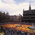 BRUXELLES Tapis de fleurs sur la Grand-Place © OPT/J.-P. REMY